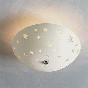 Star ceramic cutout ceiling light loaf s nursery