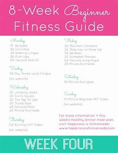 Beginner Fitness Jumpstart  Week 4
