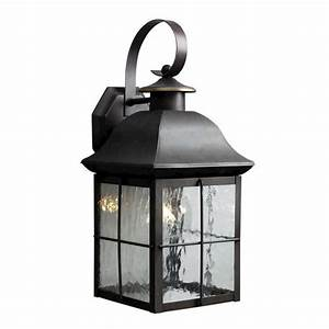 Patriot lightingr 165quot olde bronze 1 light outdoor wall mount for Outdoor lighting fixtures at menards