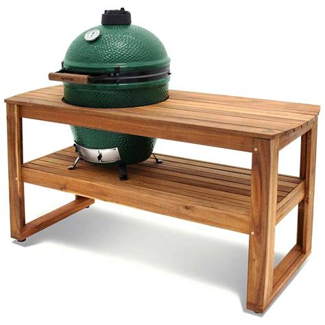 large big green egg table hardwood tables acacia big green egg