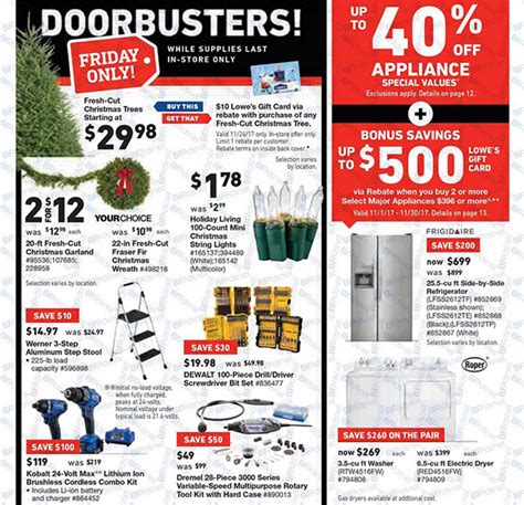 lowes deals lowes black friday 2017 tool deals