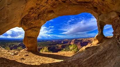 Canyon Cave Grand Wallpapers Colorado National Desktop
