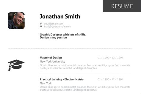 15 exceptional resumes from all the