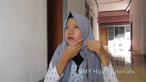 tutorial hijab pashmina simple anak muda terbaru nmy