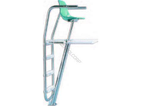 pool360 paraflyte club lifeguard chair