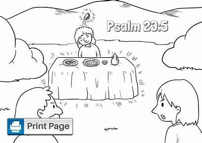 Psalm Coloring Printable Niv