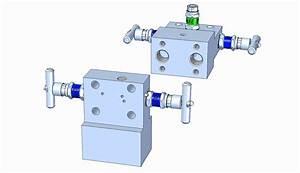 Md31t 3-valve Manifold  T-type