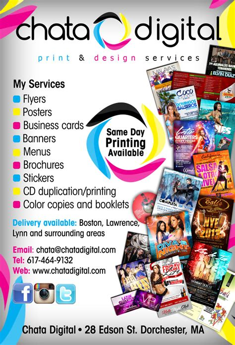Printing Press Brochure Template by Chata Digital Printing Flyer By Deitydesignz On Deviantart