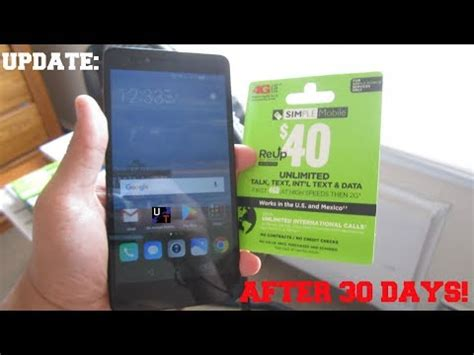 Huawei Sensa 4g Lte On Simple Mobile After 30 Days Review