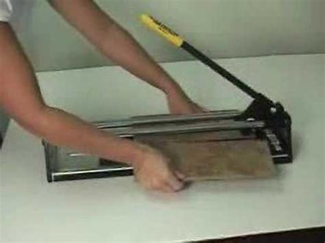 cutting ceramic tile