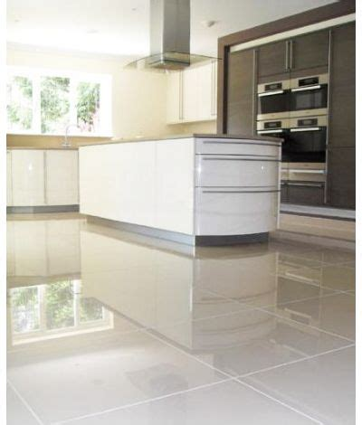 polished tiles in kitchen porcelain floor tile 24 quot x 24 quot rectified nano polished on 4305