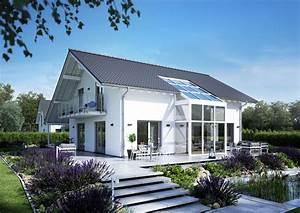 Fertighaus Anbau An Massivhaus : familienhaus luce von kern haus wintergarten ~ Lizthompson.info Haus und Dekorationen