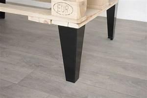 Pied De Table Basse Metal Industriel : pied de table basse style industriel 30cm ref vest30 ~ Teatrodelosmanantiales.com Idées de Décoration