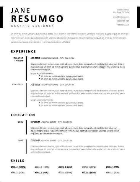 17+ Free Resume Templates for 2020 to Download Now