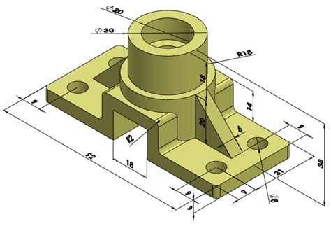 rod support solidworks edrawings cad