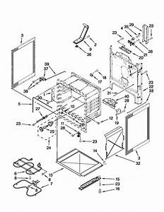 Chassis Parts Diagram  U0026 Parts List For Model Wfe510s0as0