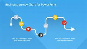 this is your life template - flat business journey chart powerpoint template slidemodel