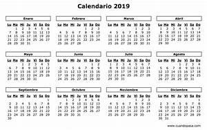 CALENDÁRIO 2019 FERIADOS