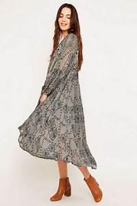 Robe Longue Style Boheme : robe longue boheme 2018 ~ Dallasstarsshop.com Idées de Décoration