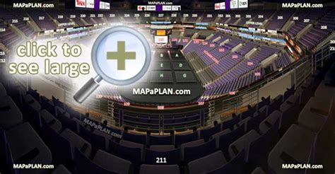 talking stick resort arena  airways center seat row numbers detailed seating chart