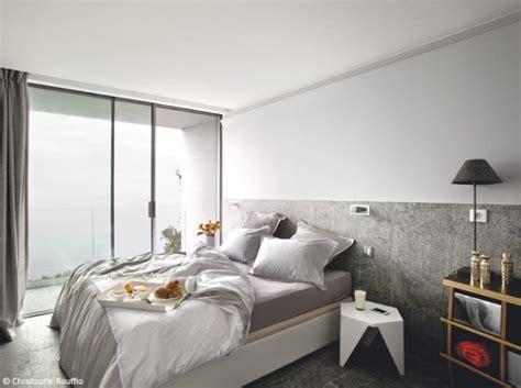 chambre mur gris décoration chambre mur gris exemples d 39 aménagements