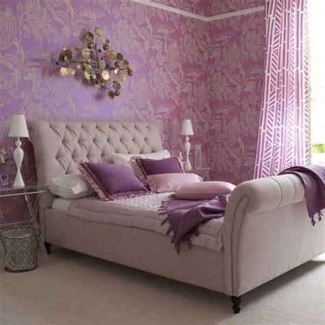 bedroom purple wallpaper 女生房间装修紫色 土巴兔装修效果图 10606 | 20150528 d66c81b64d6038880244bo97a1xvaacf