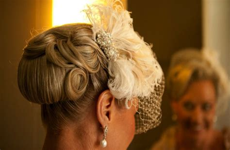 Go For A Retro Updo With A Vintage Inspired Piece