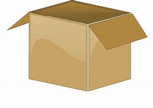 Cardboard Box Open Package · Free vector graphic on Pixabay