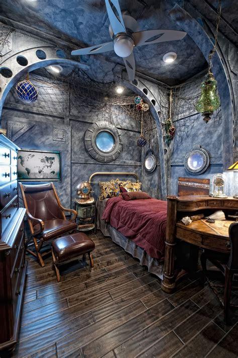 nautilus room interesting stuff steampunk bedroom