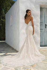 style 8862 sequined lace fit and flare wedding dress With fit and flare dress wedding dress