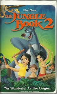 The Jungle Book 2 VHS Disney Animated - VHS Tapes