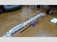リニアモーターカー linear motor car 工作 模型 YouTube