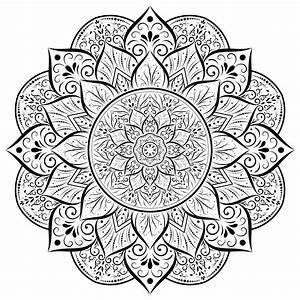 Islamic, Mandala, Free, Vector, Art