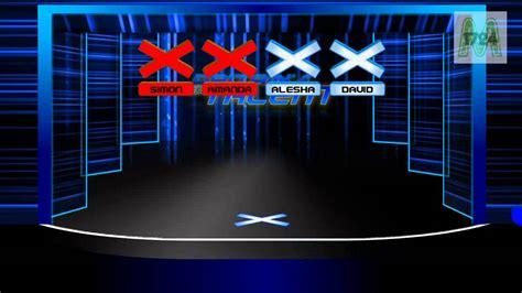 britains  talent audition stage concept  buzzers