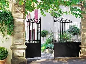 Portail En Fer Lapeyre : poussez le portail mon jardin ma maison ~ Premium-room.com Idées de Décoration