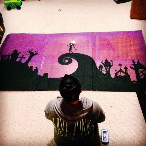 Nightmare Before Photo Backdrop by Photo Booth Wall For Fishing Pond Backdrop