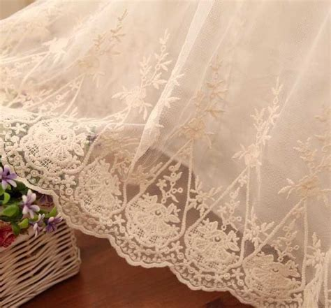 shabby chic dust ruffle ivory lace love ruffle bridal shabby white luxury queen bed skirt dust ruffle lace shabby and