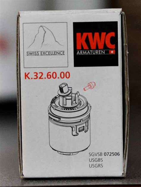 How to replace the cartridge in a KWC Domo faucet