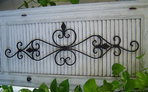 Outdoor Wrought Iron Wall Decor — Tedx Decors The