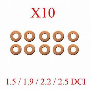 Joint Injecteur 1 5 Dci : lot de 10 joints injecteur rondelles pour renault 1 5 1 9 2 2 2 5 dci ~ Dallasstarsshop.com Idées de Décoration