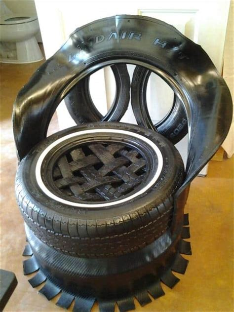 unique  easy ways  recycle  tires diy cozy home
