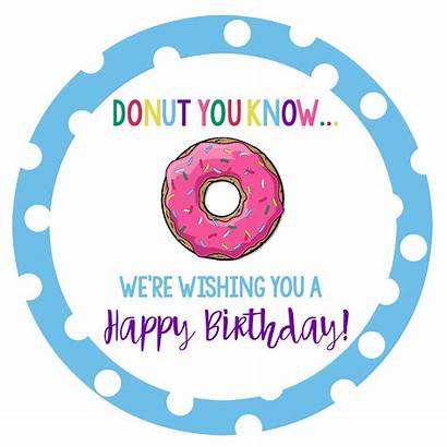 Donut Gift Fun Bouquet Birthday Squared Gifts