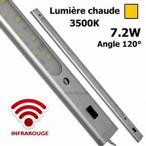 Interrupteur Infrarouge Cuisine : r glette led rigide infrarouge 12v dc 50 cm barre d ~ Edinachiropracticcenter.com Idées de Décoration