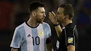 FIFA Bans Messi For Four Argentina Matches For Insulting ...
