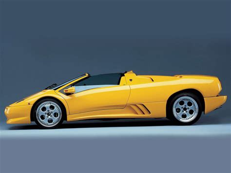 Lamborghini Wallpapers: 1996 LAMBORGHINI Diablo Roadster ...
