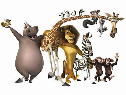 Madagascar Characters Clipart