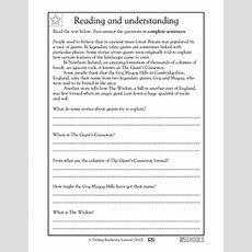 Free Printable 3rd Grade Writing Worksheets, Word Lists And Activities  Page 3 Of 6 Greatschools