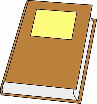 Clipart Manual Clip Closed Brown Handbook Cliparts