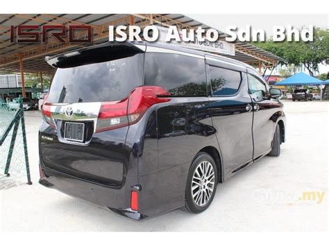 2016 Toyota Alphard G A T toyota alphard 2016 g s c package 2 5 in johor automatic