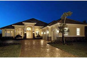 one story houses mediterranean plan 3 089 square 3 4 bedrooms 3